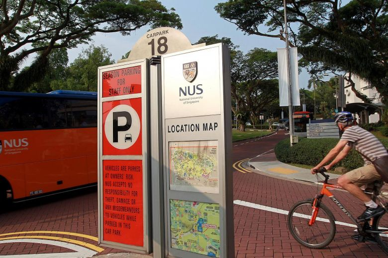 The National University of Singapore has reclaimed its perch as Asia's top university this year.PHOTO: ST FILE