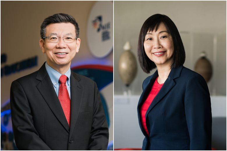 Professor Christine Goh, the current dean of graduate studies and professional learning, will replace Professor Tan Oon Seng as the head of the National Institute of Education from July 1.PHOTOS: NANYANG TECHNOLOGICAL UNIVERSITY